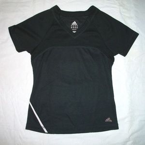 Adidas Black Clima 365 Climacool Short Sleeve Top